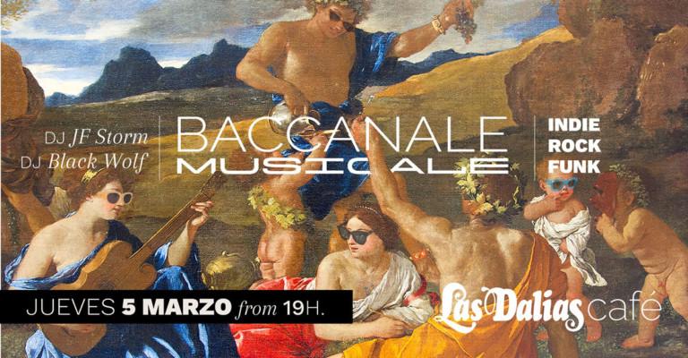 Baccanale Musicale поднимет настроение в четверг в кафе Las Dalias