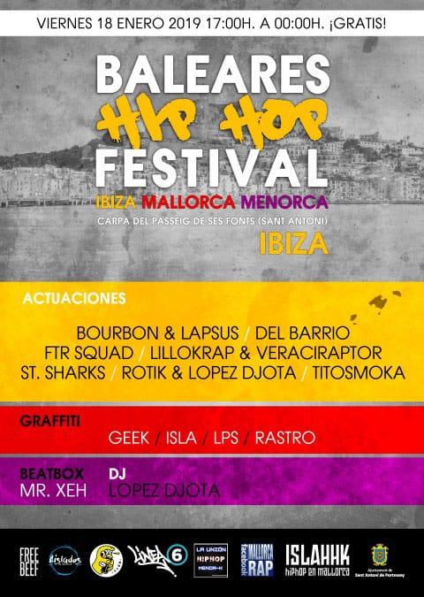 Festival Hip Hop des Baléares à San Antonio