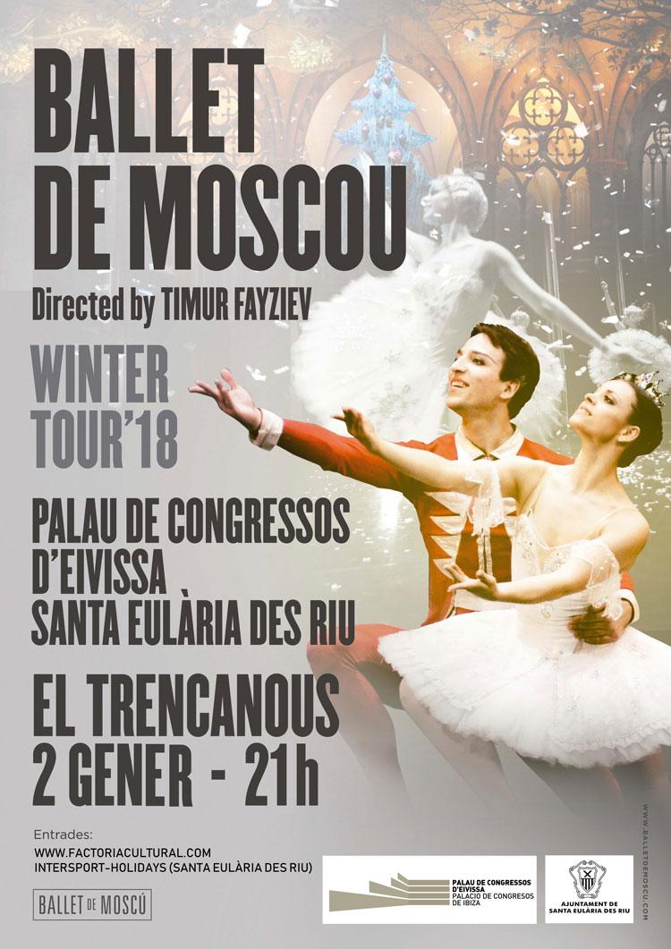 Московский балет приносит вам «Тренкан», чтобы начать год с искусства и красоты