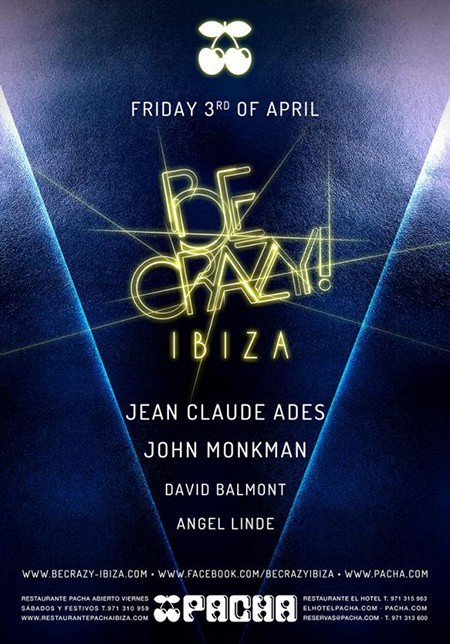 Be Crazy returns to Pacha Ibiza this Friday