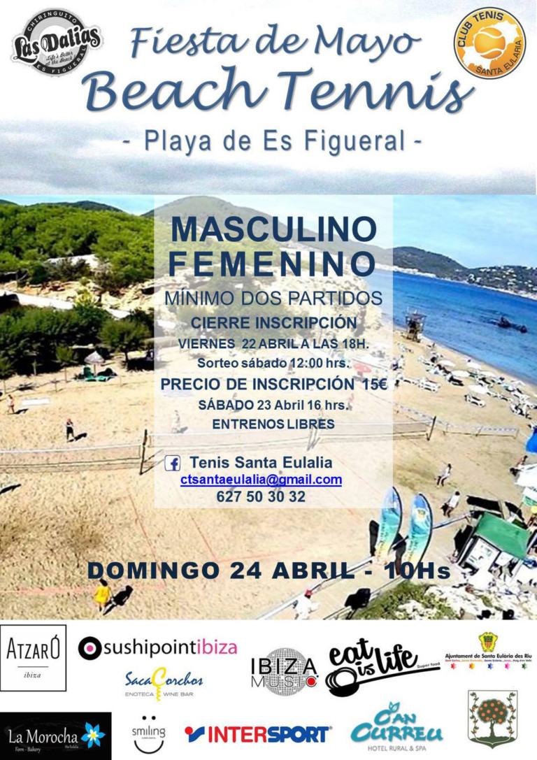 Турнир по пляжному теннису в Es Figueral в это воскресенье