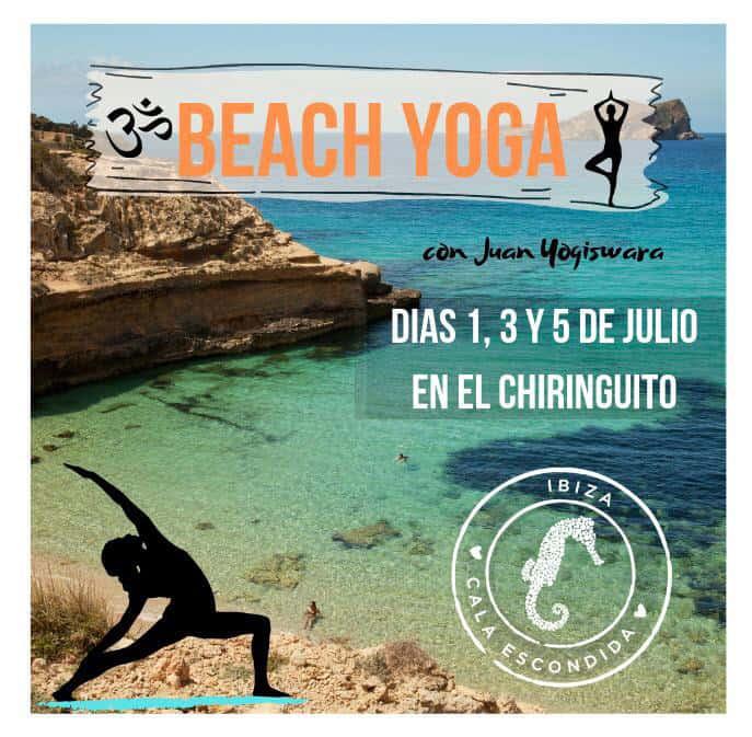 Beach Yoga im Chiringuito Cala Escondida