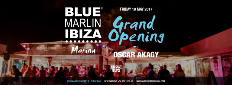 Открытие Blue Marlin Ibiza Marina 2017