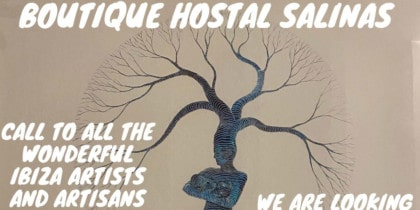 Boutique Hostal Salinas Ibiza is looking for recycling artists to renovate its rooms Culture