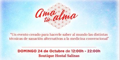 Hou van je ziel, zorg voor jezelf deze zondag in Boutique Hostal Salinas Ibiza Eventos Ibiza Consciente
