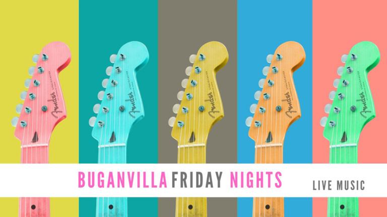 Пятничные ночи Buganvilla: живая музыка каждую пятницу на Buganvilla Ibiza