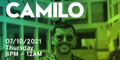 Camilo am Donnerstag bei den Glow of W Ibiza Fiestas