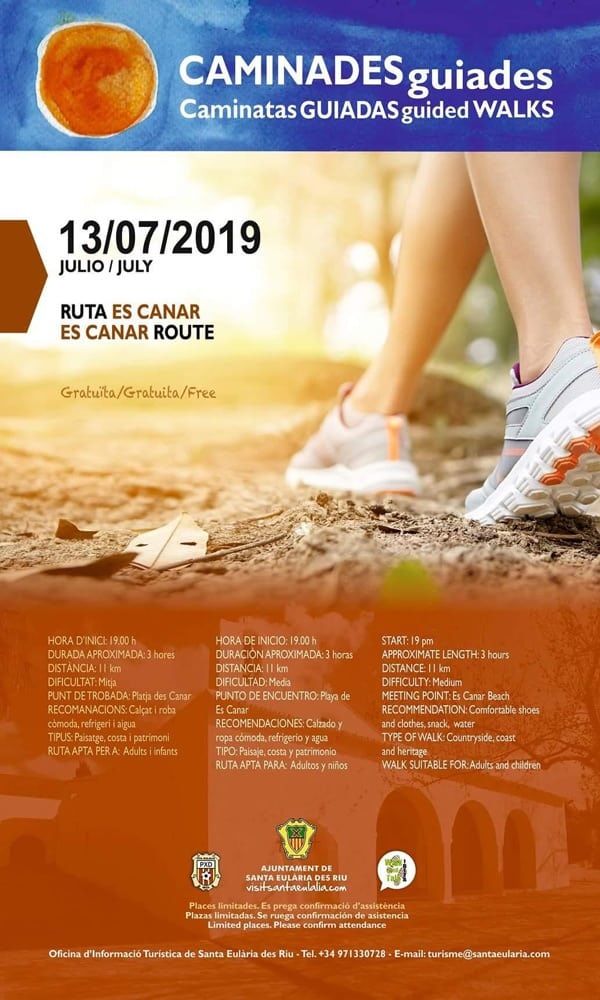 Free guided walk to get to know Es Canar