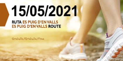 Guided walk to get to know Puig d'en Valls Deportes