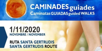 Free guided walk Santa Gertrudis Route Cultural and events agenda Ibiza