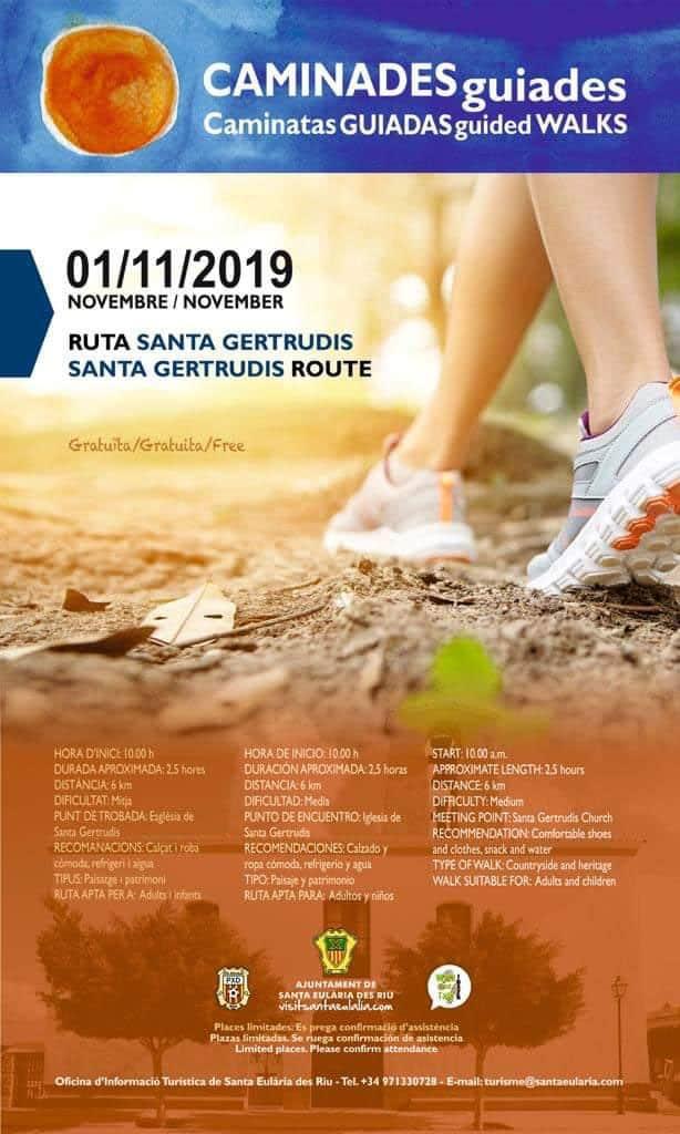 Caminata guiada gratuita Ruta Santa Gertrudis