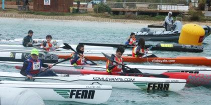 Campeonato de Baleares de Kayak de Mar en San Antonio Deportes