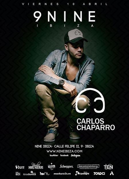 Carlos Chaparro diesen Freitag im Nine Ibiza