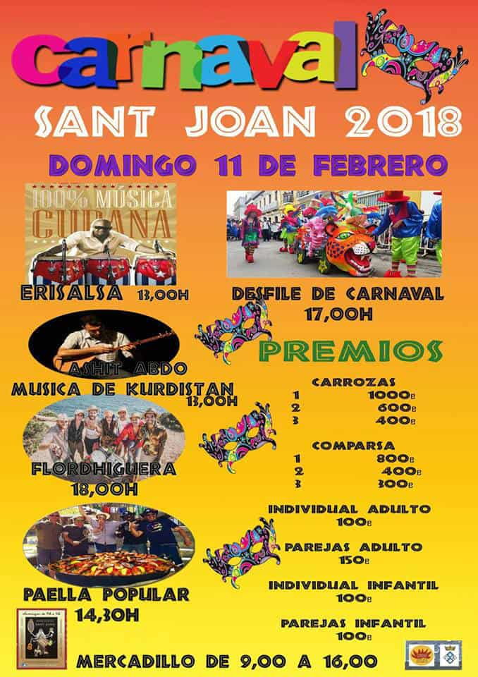 San Juan celebra el Carnaval este domingo