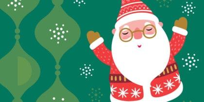 Papá Noel visita las asociaciones de vecinos de Ibiza Actividades