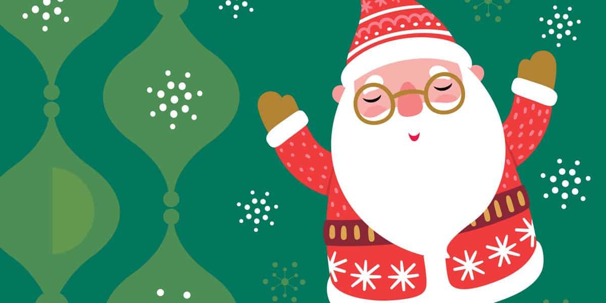 Pare Noel visita les associacions de veïns d'Eivissa Activitats