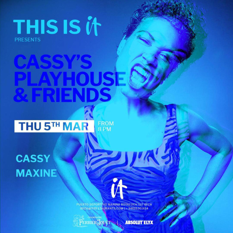 IT Ibiza открывает свои двери с живым аперитивом от Cassy's Playhouse & Friends
