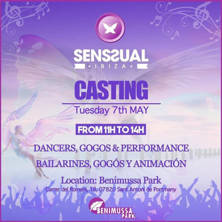 Lavorare a Ibiza 2019: casting ballerini
