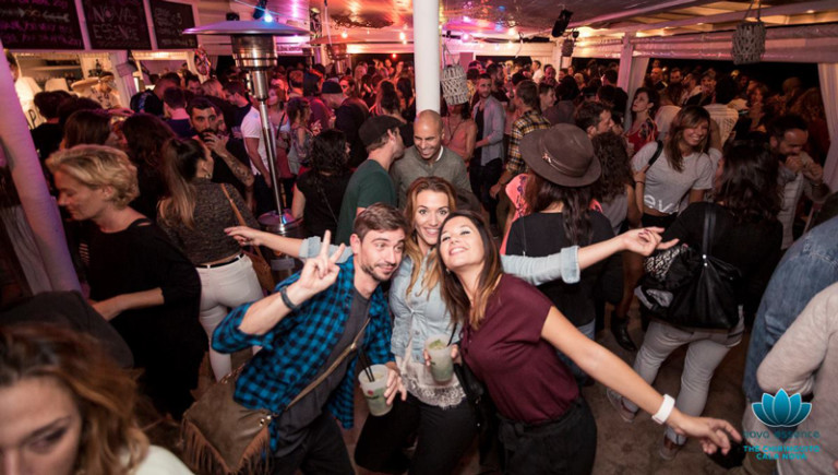 Fun on the beach with the opening party of the Atzaró Beach Ibiza Chiringuito
