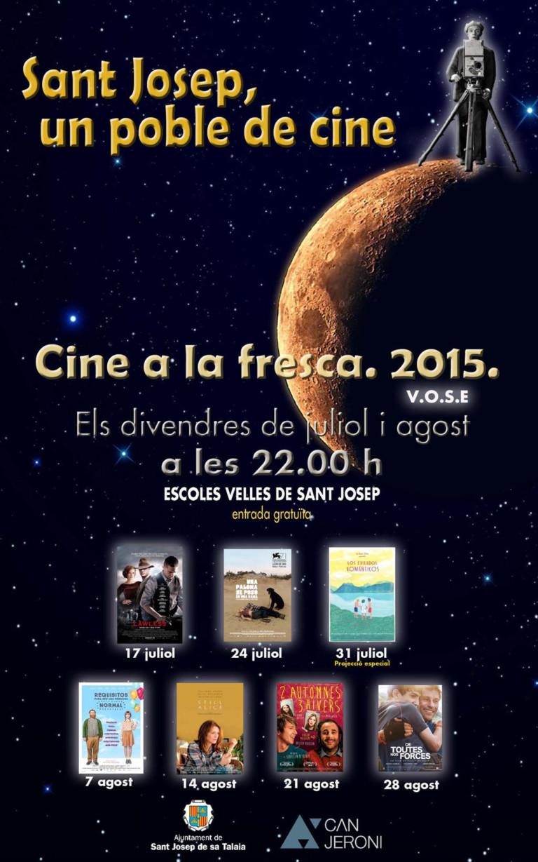Jeden Freitag Cine a la Fresca in San José