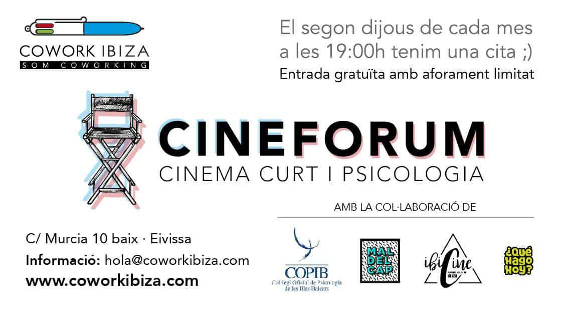 Cinefórum de Psicología в Коворк Ибица