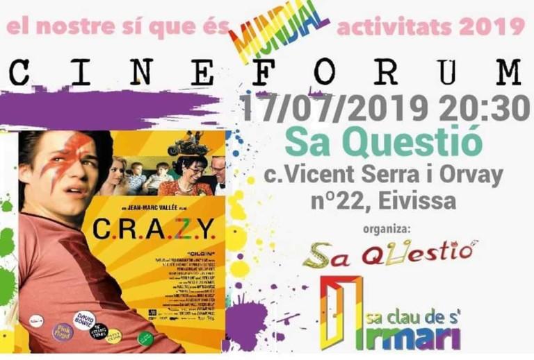 C.R.A.Z.Y: Cineforum de La Llave del Armario en Sa Questió Ibiza