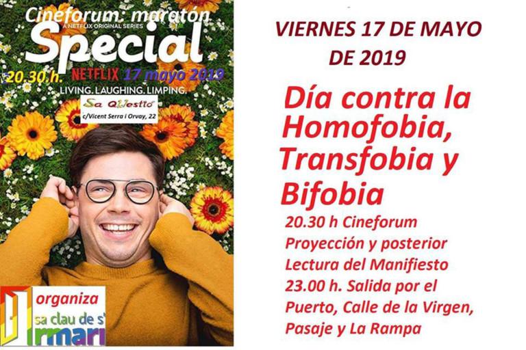 Cineforum gegen HTBiphobia in Sa Questió Ibiza