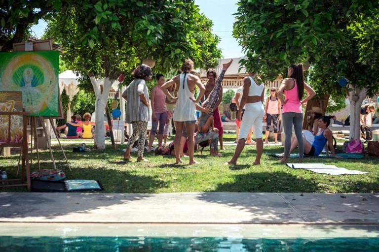 Clase gratuita de Batec Tribal este jueves en el Spa de Atzaró Ibiza