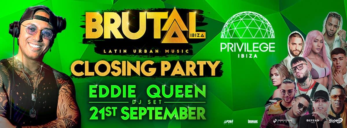 Closing de Brutal Ibiza en Privilege Ibiza