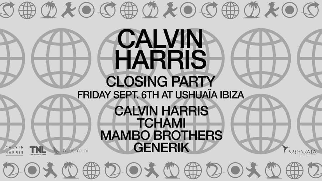 Fermeture de Calvin Harris à l'hôtel Ushuaïa Ibiza Beach