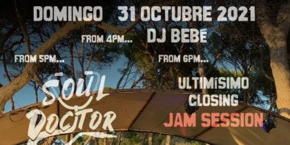 Closing de Chirincana Ibiza con Soul Doctor Fiestas