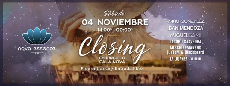 Отличная вечеринка на пляже для закрытия 2017 Chiringuito de Atzaró Ibiza