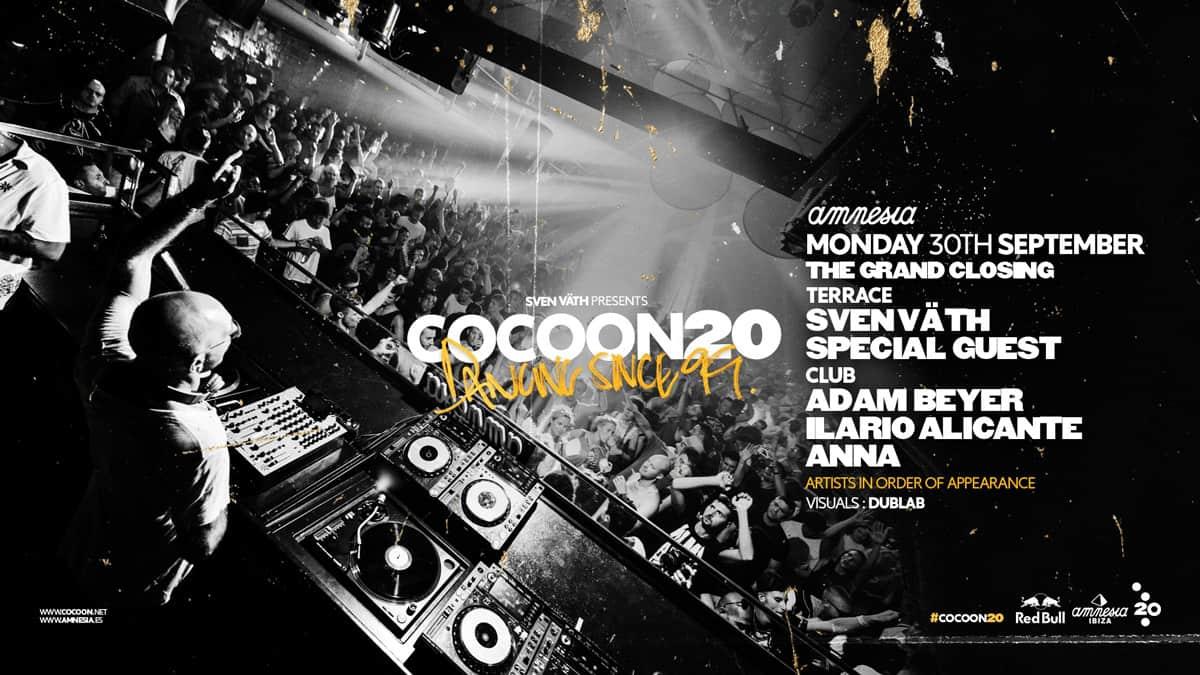Cocoon Closing Party a Amnesia Eivissa