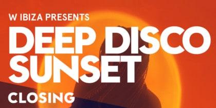 Abschluss der Deep Disco Sunset in der Glow Bar des W Ibiza Fiestas