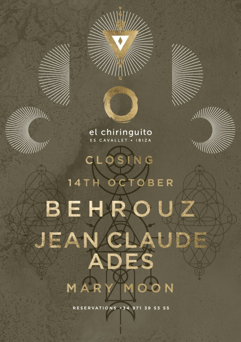 Behrouz y Jean Claude Ades en el Closing de El Chiringuito
