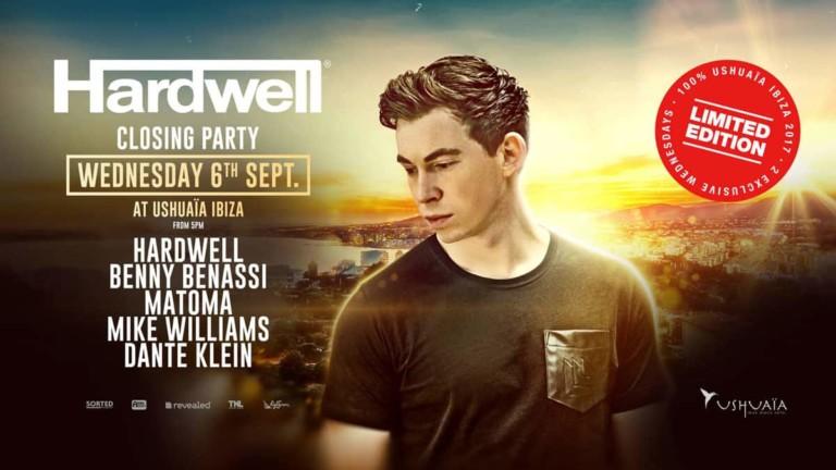 Hardwell rejette la fête en édition limitée à Ushuaïa Ibiza