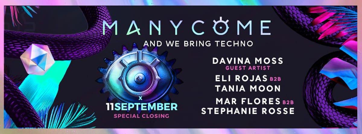 Manycome Closing at Privilege Ibiza