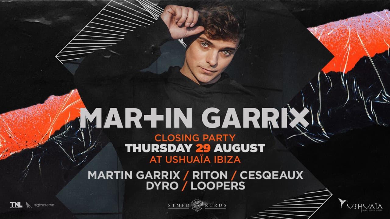 Fermeture de Martin Garrix à Ushuaïa Ibiza