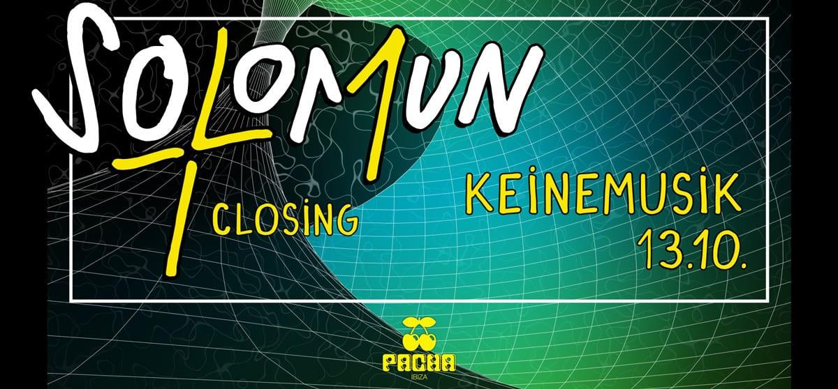 Fermeture de Solomun + 1 à Pacha Ibiza avec Keinemusik