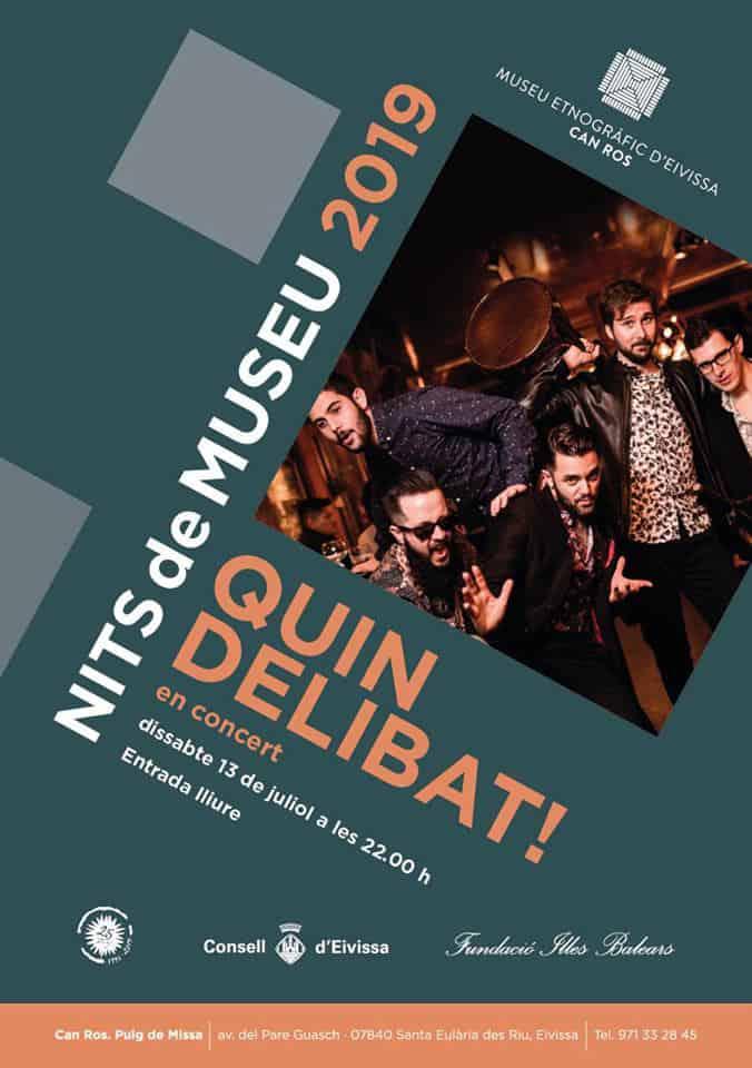Concert acoustique de Quin Delibat! au musée ethnographique d'Ibiza