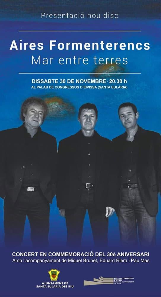 Aires Formenterencs представляет новый альбом во Дворце конгрессов Ибицы