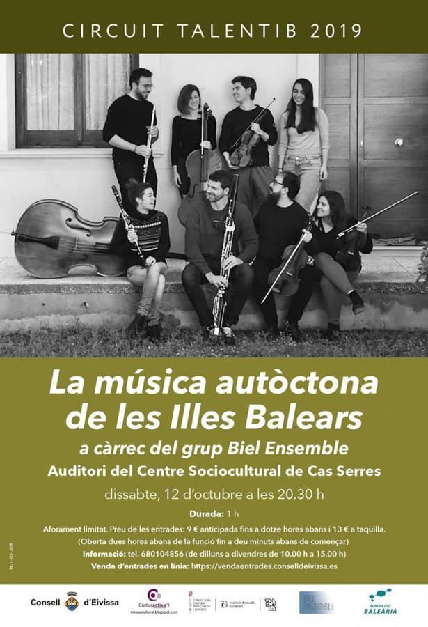 Musik der Balearen mit der Biel Ensemble Gruppe in Cas Serres Ibiza