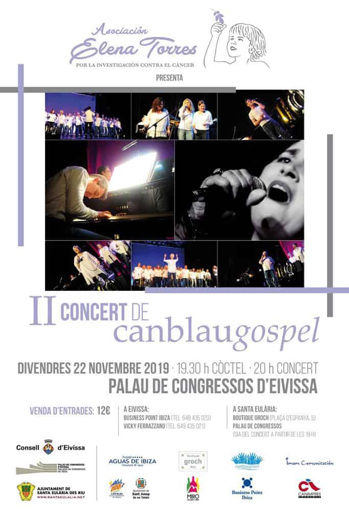 Концертная солидарность Евангелия от Кан Блау во Дворце конгрессов Ибицы