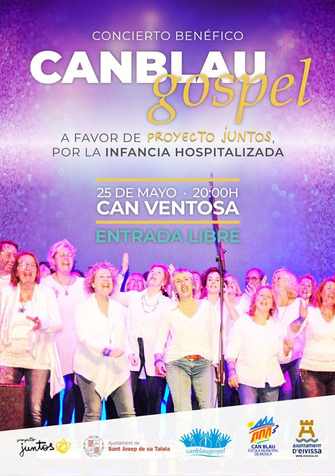 Concert de Can Blau Gospel en faveur de Proyecto Juntos en Can Ventosa