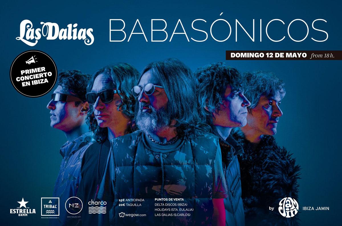 Concert de Babasónicos à Las Dalias Ibiza