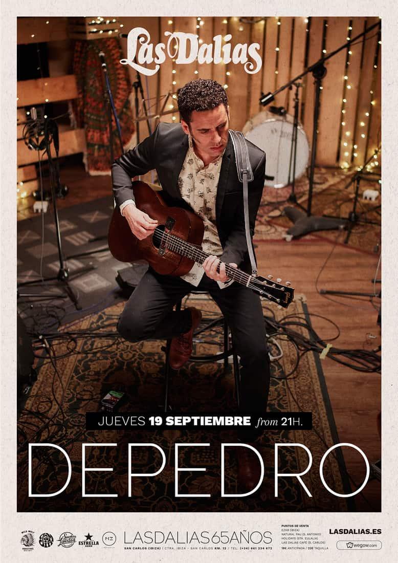 Concert Depedro à Las Dalias Ibiza