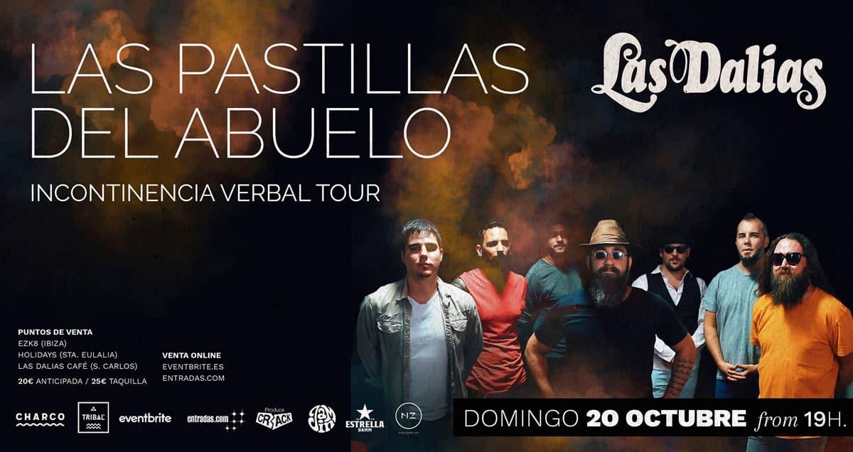 Concert du grand-père Pastillas à Las Dalias Ibiza