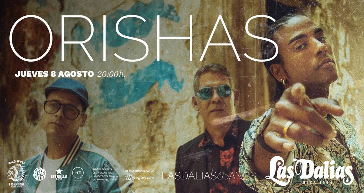 Концерт Оришас в Лас Далиас Ибица