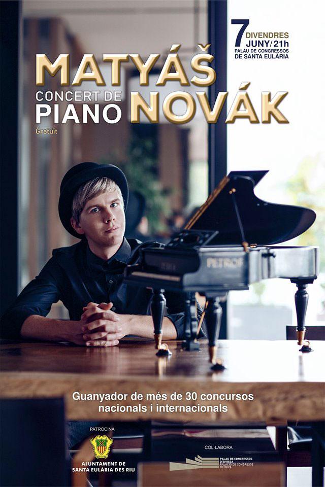 Klavierkonzert von Matyás Novák im Palacio de Congresos de Ibiza