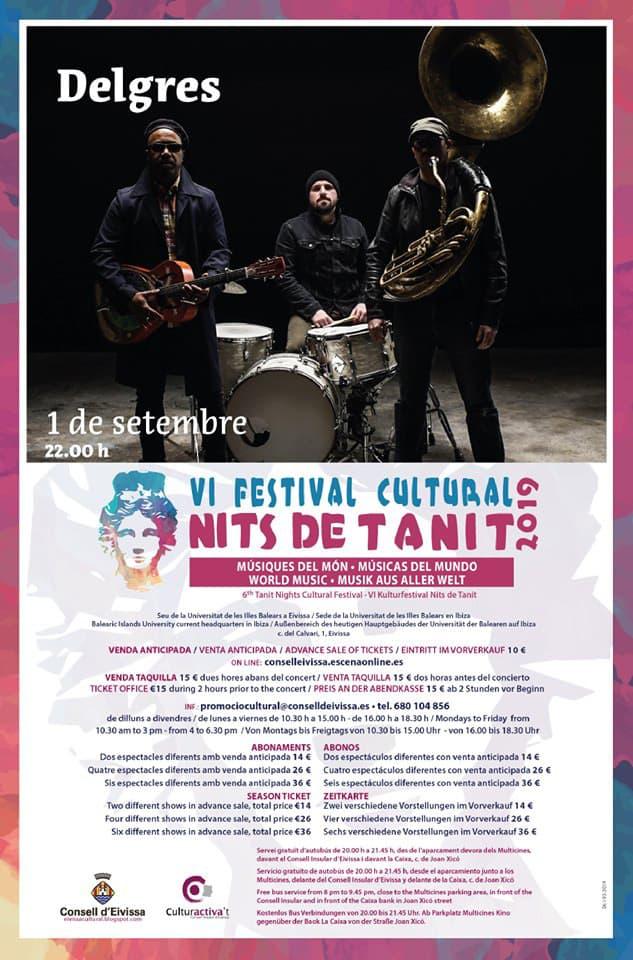 Delgres clôture le VI Festival Nits de Tanit à Ibiza